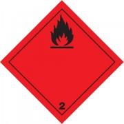 Značka Hořlavé plyny TŘ. 2.1 - magnetická folie
