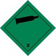 Značka Nehořlavé, netoxické plyny TŘ. 2.2 - magnetická folie