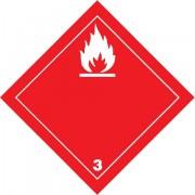Značka Hořlavé kapaliny TŘ. 3 - magnetická folie