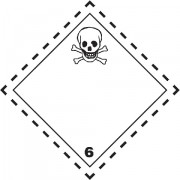 Značka Toxické látky TŘ. 6.1 - magnetická folie