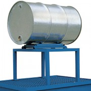 Ocelový stojan pro jeden 200 l sud - PLN 2560