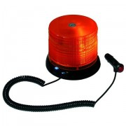 Oranžový magnetický LED majáček, 12V