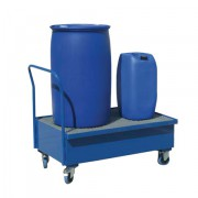 Záchytný vozík s pozinkovaným roštem - PLN 1001
