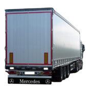 Zástěrka MERCEDES se znakem 2380x350mm