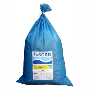 Sorbent kapalin chemický CP 5 - sorpční textilní drť (5 kg)
