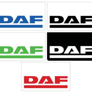 Zástěrka DAF - 2ks - 60x35 cm