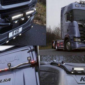 Trubkové rámy KELSA - New Scania R série 2016-
