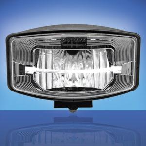 LED reflektor Boreman - dálkový - Brilliant Silver (1001-1685)