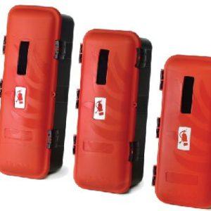 Box plastový pro hasicí přístroj (6 až 9 kg)