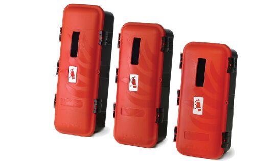 Box plastový pro hasicí přístroj (do 6 kg)
