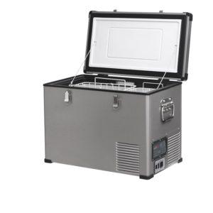 Lednice TB46 Steel - kompresorová autochladnička od Indel B (45 litrů) 12/24/230V