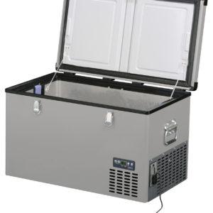 Lednice TB60 Steel - kompresorová autochladnička od Indel B (60 litrů) 12/24/230V