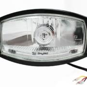 Světlomet / reflektor dálkový - Skyled Jumbo Ellipse BLACK - (bílý)