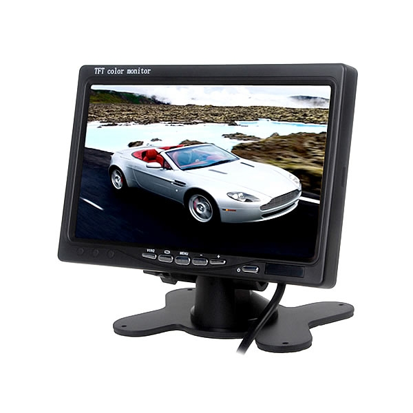 """Monitor LCD 7.0"""" s dálkovým ovládáním"""