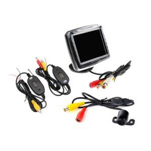 """Parkovací set - kamera / 3.5"""" monitor / bezdrát"""