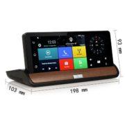 "Navigace 6.5"" GPS (android) s DVR kam. + WIFI + Bluetooth - TRUCK / TIR / OA (na palubní desku)"
