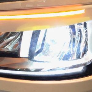 Ozdobné kryty světel (mračítka) SCANIA R/S NEW GENERATION (výřez na směr.světla)
