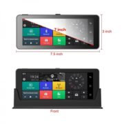 "Navigace 7"" GPS ANDROID s WIFI - DVR kamerou - bluetooth - TRUCK / TIR / OA (DS796)"