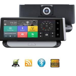 """Navigace 8"""" GPS na palub.desku s WIFI - DVR i park. kamerou - Bluetooth - TRUCK/TIR/OA (DS898)"""