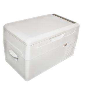 Lednice Vigo Cool 22 l s výrobníkem ledu - přenosná, kompresorová (12/24/230V)