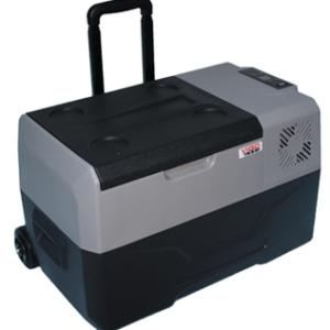 Lednice Vigo Cool 30 l - přenosná, kompresorová s rukojetí a kolečky (12/24/230V)